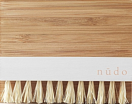 Parfumuri și produse cosmetice Perie din bambus pentru unghii Sisal Bristle - Nudo Nature Made Bamboo Nail Brush With Sisal Bristles