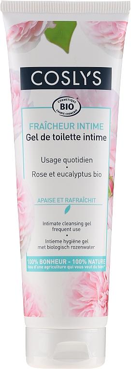 Gel pentru igienă intimă cu apă organică de trandafiri - Coslys Body Care Intimate Cleansing Gel — Imagine N1