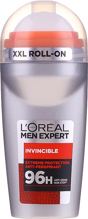 Deodorant roll-on antiperspirant pentru bărbați - L'Oreal Paris Men Expert Invincible 96 Hours Deodorant