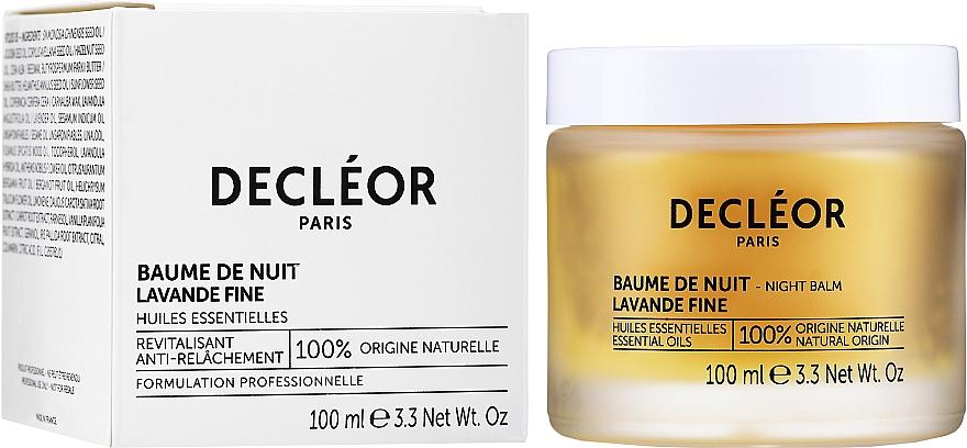 Balsam de noapte pentru întinerirea faței, cu ulei de iris - Decleor Aromessence Iris Rejuvenating Night Balm — Imagine N2
