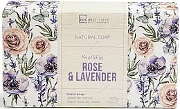 Parfumuri și produse cosmetice Săpun - IDC Institute Soothing Hand Natural Soap Rose & Lavender