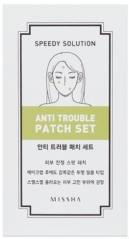 Plasturi pentru piele problematică - Missha Speedy Solution Anti Trouble Patch — Imagine N1