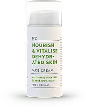 """Parfumuri și produse cosmetice Cremă de față """"Nutriție și recuperare"""" - You & Oil Nourish & Vitalise Dehydrated Skin Face Cream"""