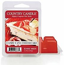 Parfumuri și produse cosmetice Ceară pentru lampă aromatică - Country Candle Candy Cane Cheesecake Wax Melts