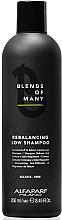 Parfumuri și produse cosmetice Șampon echilibrant, fără sulfat - Alfaparf Milano Blends Of Many Rebalancing Low Shampoo