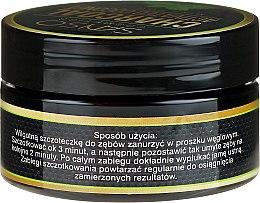 Praf pentru înălbirea dinților - Sanso Cosmetics Charcoal Activated Coconut Mint Powder — фото N2