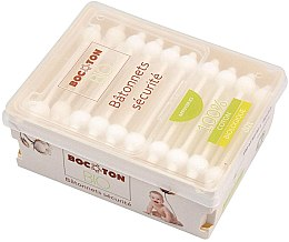 Parfumuri și produse cosmetice Bețișoare din bumbac, 60 bucăți - Bocoton