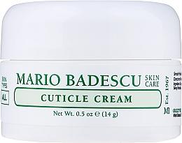 Parfumuri și produse cosmetice Cremă pentru cuticule - Mario Badescu Cuticle Cream