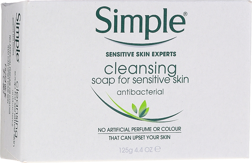 Săpun antibacterian pentru piele sensibilă - Simple Antibacterial Soap For Sensitive Skin — Imagine N1