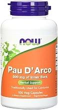 "Parfumuri și produse cosmetice Capsule ""Pau D'Arco"", 520 mg - Now Foods Pau D'Arco"