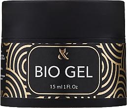 Parfumuri și produse cosmetice Gel transparent de unghii - F.o.x Bio Gel 3 in 1 Base Top Builder