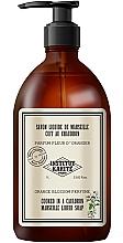 Parfumuri și produse cosmetice Săpun lichid - Institut Karite Orange Blossom So Vintage Marseille Liquid Soap