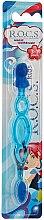 Parfumuri și produse cosmetice Periuță de dinți, pentru copii, albastră - R.O.C.S. Kids