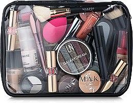 """Parfumuri și produse cosmetice Trusă cosmetică incoloră """"Visible Bag"""" 25x18x8 cm (fără produse) - MakeUp"""