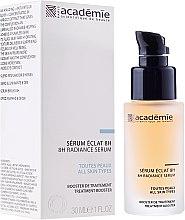 """Parfumuri și produse cosmetice Ser de caise """"8 ore de strălucire"""" - Academie 8h Radiance Serum"""