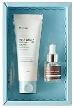 Parfumuri și produse cosmetice Set - iUNIK Beta Glucan Edition Skin Care Set (cr/60ml + ser/15ml)