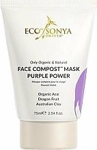 Parfumuri și produse cosmetice Mască pentru față - Eco by Sonya Face Compost Mask Purple Power