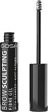 Parfumuri și produse cosmetice Gel pentru sprâncene - Gosh Brow Sculpting Fibre Gel