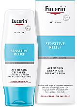 Parfumuri și produse cosmetice Cremă-gel după bronzare - Eucerin After Sun Creme-Gel for Sensitive Relief