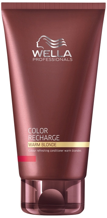 Balsam pentru revigorarea nuanțelor calde de blond - Wella Professionals Color Recharge Warm Blonde — Imagine N1