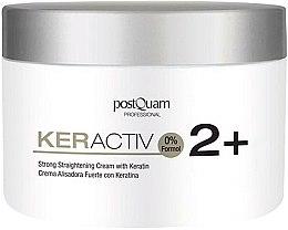 Parfumuri și produse cosmetice Cremă cu keratină pentru păr - PostQuam Keractiv Strong Straightening Cream With Keratin