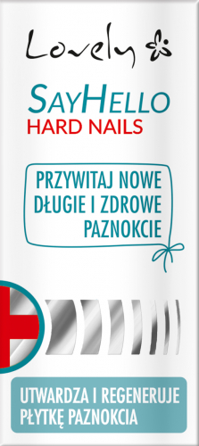 Balsam pentru unghii fragile - Lovely Say Hello Hard Nails — Imagine N1
