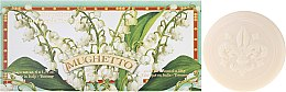 """Parfumuri și produse cosmetice Set săpun de toaletă """"Lăcrămioară"""" - Saponificio Artigianale Fiorentino Lily Of The Valley (Soap/6x50g)"""