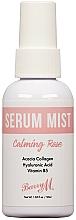 Parfumuri și produse cosmetice Ser-spray pentru față - Barry M Serum Mist Calming Rose Facial Lotion and Spray