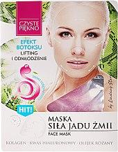 Parfumuri și produse cosmetice Mască de față, cu venin de șarpe - Czyste Piekno Face Mask