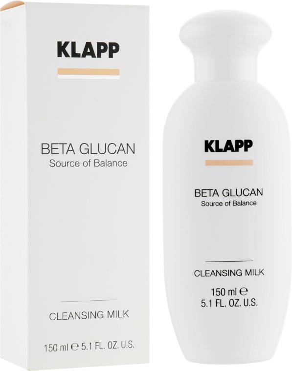 Lapte pentru față - Klapp Beta Glucan Cleansing Milk — Imagine N1