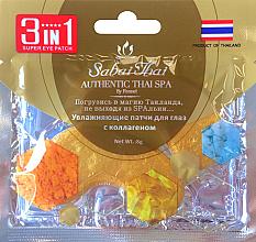 Parfumuri și produse cosmetice Patch-uri cu colagen pentru ochi - Sabai Thai Collagen Eye Patch