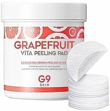 Parfumuri și produse cosmetice Pad-uri peeling cu extract de grapefruit - G9Skin Grapefruit Vita Peeling Pad