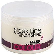 Parfumuri și produse cosmetice Mască de păr - Stapiz Sleek Line Colour Mask