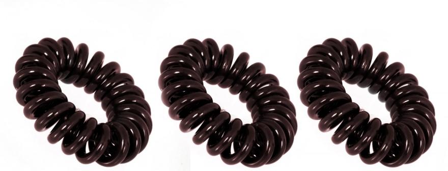 Elastic de păr - Invisibobble Chocolate Brown — Imagine N3