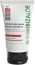 Parfumuri și produse cosmetice Cremă de protecție solară - Ibizaloe Organic Sun Protection SPF 50