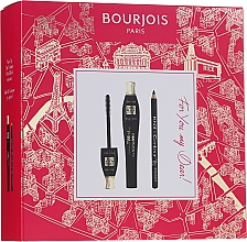 Parfumuri și produse cosmetice Set - Bourjois For You My Dear (mascara/8ml+eyeliner/1.65g)