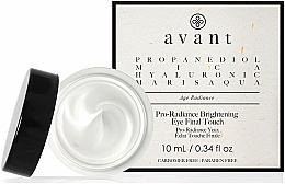 Parfumuri și produse cosmetice Cremă anti-îmbătrânire pentru zona ochilor - Avant Skincare Pro-Radiance Brightening Eye Final Touch