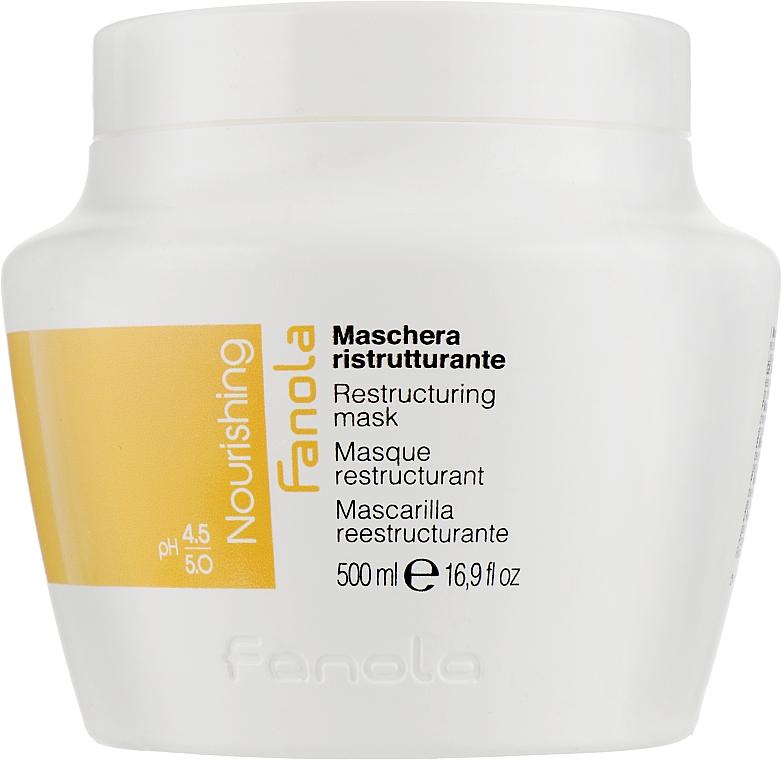 Mască regenerantă pentru păr uscat - Fanola Nutri Care Restructuring Mask