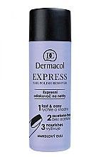 Parfumuri și produse cosmetice Remover pentru lac - Dermacol Express Nail Polish Remover
