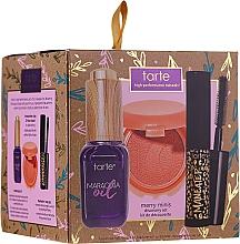 Parfumuri și produse cosmetice Set - Tarte Cosmetics Discovery Surprise Xmas Merry Minis Set (face/oil/7ml+mascara/4.5ml+blush/1g)
