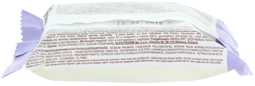 """Săpun """"Lavandă cu ulei de in"""" - Green Pharmacy — Imagine N2"""