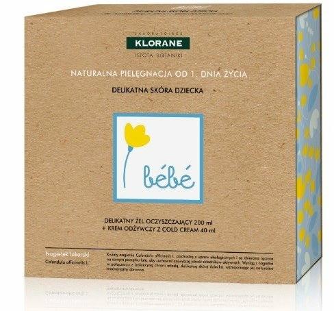 Set - Klorane Bebe (wash gel/200ml + cr/40ml) — Imagine N1