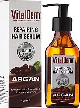 Parfumuri și produse cosmetice Ser regenerant pentru păr - VitalDerm Argana