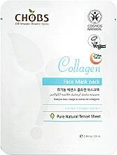 """Parfumuri și produse cosmetice Mască de față """"Colagen"""" - CHOBS Collagen Face Mask Pack"""