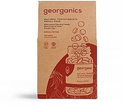"""Parfumuri și produse cosmetice Tablete pentru curățarea dinților """"Eucalipt"""" - Georganics Natural Toothtablets Eucalyptus (rezervă)"""