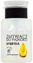 Parfumuri și produse cosmetice Soluție pentru îndepărtarea ojei - Lilli Line Hybrid Nail Polish Remover