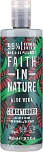 """Parfumuri și produse cosmetice Balsam pentru păr normal și uscat """"Aloe Vera"""" - Faith In Nature Aloe Vera Conditioner"""