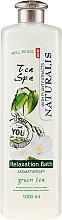 Parfumuri și produse cosmetice Spumă de baie - Naturalis Tea Spa Relaxation Bath