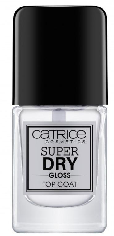 Fixator lac de unghii - Catrice Super Dry Gloss Top Coat