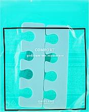 Parfumuri și produse cosmetice Separator degete, verde - Oriflame Pedicure Toe Separators